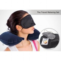 Travel Pillow Set / Bantal Angin Leher 3 in 1