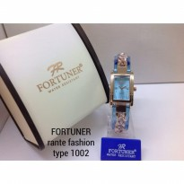 FORTUNER 1002 RANTAI ORIGINAL ANTI AIR BLUE ROSEGOLD