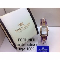FORTUNER 1002 RANTAI ORIGINAL ANTI AIR UNGU ROSEGOLD COVER WHITE