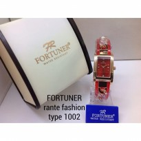 FORTUNER 1002 RANTAI ORIGINAL ANTI AIR RED ROSEGOLD