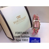 FORTUNER 1002 RANTAI ORIGINAL ANTI AIR PINK ROSEGOLD PINK