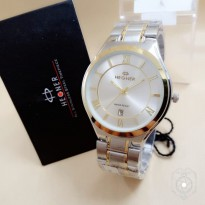 HEGNER 1601 TANGGAL BESAR ORIGINAL ANTI AIR SILVER GOLD COVER WHITE