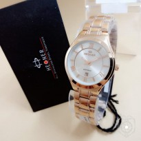 HEGNER 1601 TANGGAL ORIGINAL ANTI AIR ROSEGOLD COVER WHITE