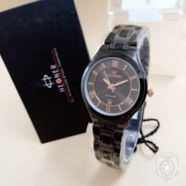 HEGNER 1601 TANGGAL ORIGINAL ANTI AIR BLACK JARUM ROSEGOLD