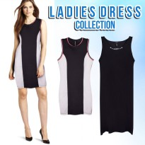 NEW COLLECTION F.21 Dress/Mini Dress/Black Dress/Branded Dress/Mid Dress/Dress Wanita