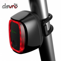 Lampu Sepeda Rechargeable - Bicycle Smart Taillight - Meilan X6 - Hitam