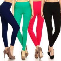 [ CLEARANCE SALE ] LEGGINGS Spandex - Legging Wanita - Celana Wanita - Spandek - All Size M L XL