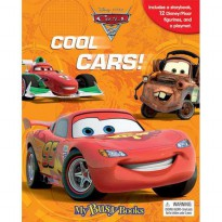 [HelloPandaBooks] My Busy Book Disney Pixar Cars2 Cool Cars! includes a Storybook