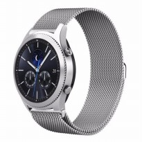 Samsung Gear S3 Frontier / Classic Metal Milanese Loop Strap 22mm
