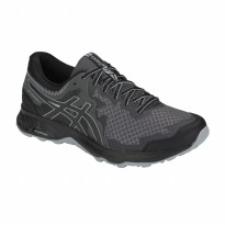Sepatu Olahraga Outdoor Lari Trail Asics Gel-Sonoma 4 Men's Running Shoes- StoneGrey 1011A177002