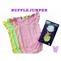 KAZEL RUFFLE JUMPER 4IN1 - SIZE XL