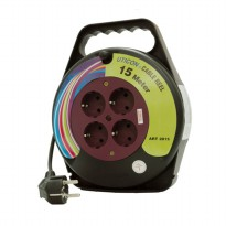 UTICON Kabel Gulung Arde 15Meter - Cable Reel CR2815