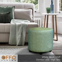 Offo Living - Stool Olla Grass