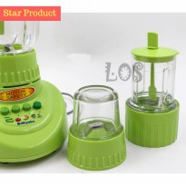 S.A.L.E Miyako Blender 3in1 Glass 152GF (00091.00006)