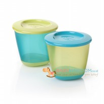 PROMO Tommee Tippee Explora 2 Pop Up Weaning Pots - Blue Green