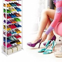 Rak Sepatu Amazing Shoe Rack muat 30 pasang as seen on tv