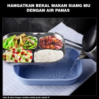 Lunch Box Stainless Anti panas - Lunch Box bagus - Lunch Box Import