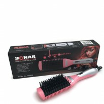 Sonar Catok Sisir Ceramic Hair 2 in 1 - SN 906