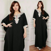 Kaftan fatima gamis bordir maxy dress jumbo