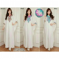 Kaftan Arafah Gamis bordir maxy dress jumbo