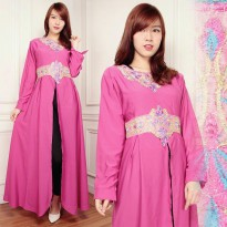 Kaftan Jenaf Gamis bordir maxy dress