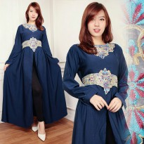 Kaftan Hadijah Gamis bordir maxy dress