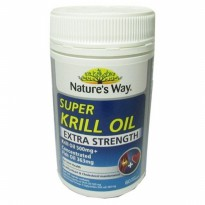Natures Way Super Krill Oil dan Fish Oil Extra Strength 60 Caps
