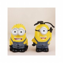 HO3591 - Patung Celengan Minions Set Despicable ME (2 Pcs)