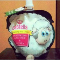 CASTELLA WHITENING BODY LOTION AUSTRALIAN GOAT MILK & HONEY