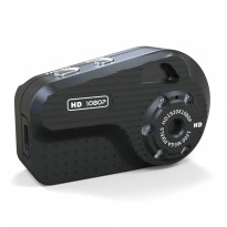 S3 Mini DV Camera 1080P Full HD Car DVR - Black