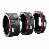 Aputure AC-MC 13mm, 21mm, 31mm Macro Extension Tube Set for Canon Camera EF and EF-S Lens - Black