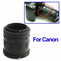 Extension Ring Lensa Canon - Black