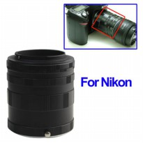 Extension Ring Lensa Nikon - Black