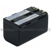 Battry Replacement for Camcorders Canon BP-950G 4600mAh - Black