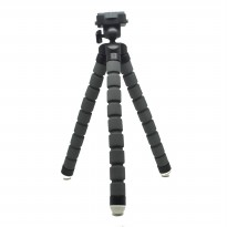 Fotopro Flexible Tripod for Camera and Smartphone - Gray