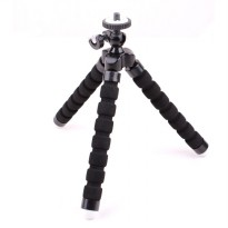 Mini Tripod Octopus for Action Camera - Black