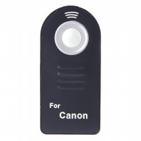 Wireless IR Camera Remote Controller for Canon Camera - Black