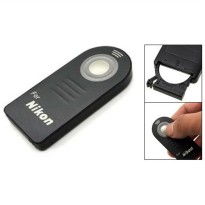 Wireless IR Camera Remote Controller for Nikon Camera - Black