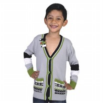 Catenzo Junior Sweater Anak - Grey CZMx160