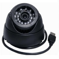 Doom Indoor CCTV With MicroSD Slot - Black
