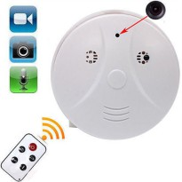 Kamera Pengintai Spy Camera CCTV Smoke Detector Appearance 720 x 480 - White