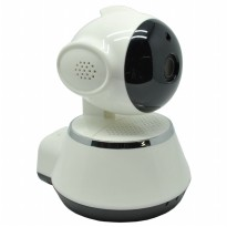 Wireless IP Camera CCTV 1/4 Inch CMOS 720P Night Vision - WD-V02 - White