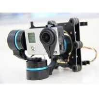 Feiyu Tech FY-G3 Ultra 3-Axis Gimbal Brushless AirCraft Aerial Photography for GoPro 3/3+ - Black