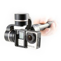 Feiyu Tech FY-G4 QD 3-Axis Handheld Steady Gimbal with Quick Dismantling for GoPro and Xiaomi - Black