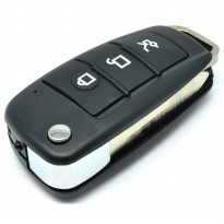 Kamera Pengintai Spy Camera Car Key Appearance 1080P with Motion Detection - Black