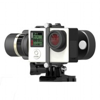 Feiyu Tech WG Mini 2-Axis Wearable Gimbal for GoPro 3/3+/4 - Black