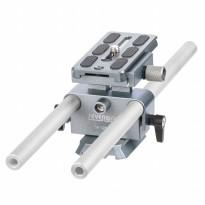 Sevenoak Universal 15mm Rail Rod Support and Baseplate - SK-QBP01 - Silver