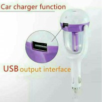 Car Charger usb with Air Humidifier/Charger Mobil