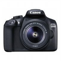Canon EOS 1300DC DSLR Lensa Kit Non IS - 18.0MP - Hitam