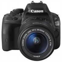 Canon EOS 100D - 18 MP - Lens 18-55mm (Black)